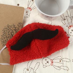 趣玩 麻椒可爱口罩 -大胡子