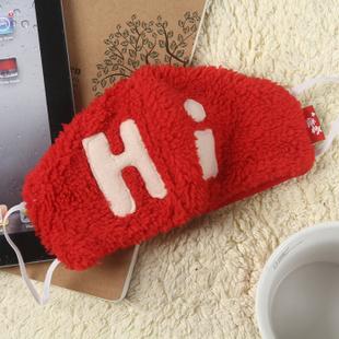 趣玩 麻椒可爱口罩 -hi红色