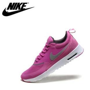 耐克Nike Thea Print系列 运动休闲女鞋气垫跑步鞋(暗紫 38)