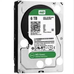 【当当金牌店】西部数据(WD)台试机硬盘 6T 绿盘 6TB SATA6Gb/s 64MB台式机硬盘(WD60EZRX) 品质铸造品牌!绿盘卓越品质! 安静、节能、环保,给你舒适的娱乐和生活环境,6TB炫世登场!
