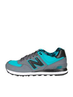 New Balance 新百伦 男士574系列红色简约时尚跑步鞋(美国直发)