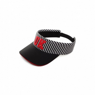 条纹拼接空顶帽