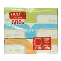 明佳 200抽盒装面巾纸*3盒