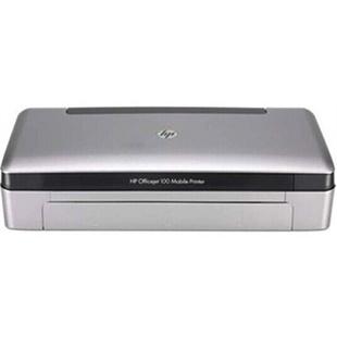 惠普(HP)100 移动便携式打印机 hp100打印机 惠普100打印机 惠普100移动便携式彩色喷墨打印机 惠普100无线蓝牙打印机 内置蓝牙无线连接 内置移动锂电池 A4幅面彩色移动无线网络打印机