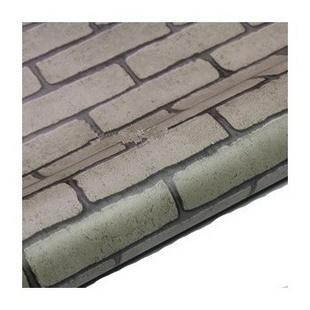 加厚波音软片旧家具翻新贴砖纹贴自粘墙纸 青砖头SH2211