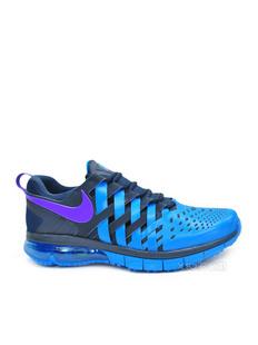 NIKE 耐克 男士蓝色拼接跑步鞋(美国直发)