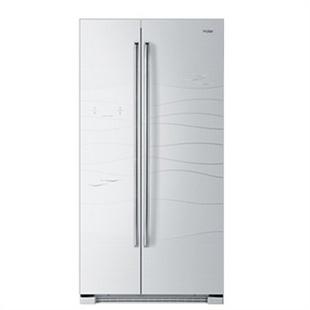 Haier/海尔 BCD-649WDCV 白色威尼斯 无霜风冷 对开门冰箱 电脑显示