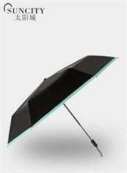 梦芭莎太阳城超轻遮阳伞宝石胶超强防晒防紫外线太阳伞