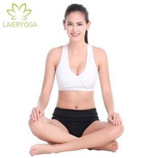 Laieryoga来尔运动健身套装 瑜伽服 春夏新款 女瑜珈服 愈加跑步服 Q1011+M1002