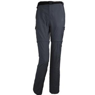 圣弗莱sevlae 新款男女户外透气可拆两截速干裤 送腰带 9312932093 碳灰-女 L