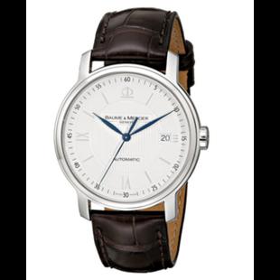 正品代购Baume   Mercier名仕Classima 克莱斯麦系列 MOA08791 男款 自动计时机械腕表