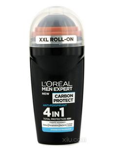 L'Oreal欧莱雅碳保护冰凉香薰滚珠 50ml/1.7ozMen Expert Carbon Protect Intense Ice Fragrance Roll On