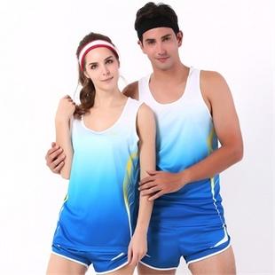 男女款训练服 比赛服田径服 马拉松跑步服 休闲运动服装83519