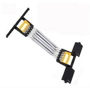 多功能臂力器家用健身器材 弹簧三用拉力器 扩胸器正品