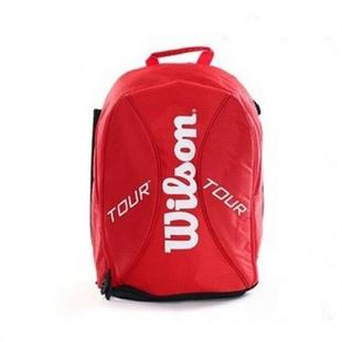 Wilson/威尔胜 Wilson Tour Backpack网球背包 双肩 红色 WRZ843395