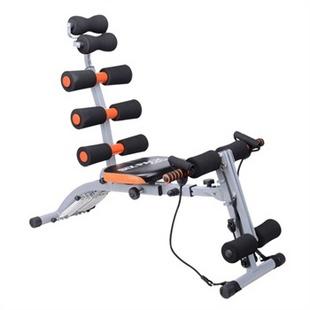 浩博倚懒人运动健身器材六合一 多功能AD收腹机