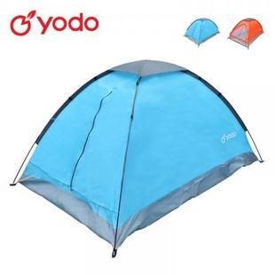 星云两人单层帐篷200X140X110蓝色