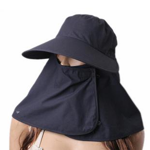 触蕊防紫外线户外钓鱼帽MD0001 藏蓝色 可调节头围