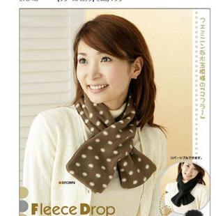 日式双用围巾(咖啡色)