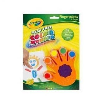美国 绘儿乐Crayola 官网专卖 神彩凝胶手指画颜料套装75-2060