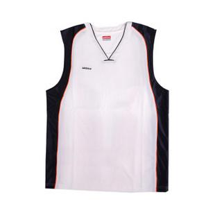 德意志山峰(ADDNICE) 男式篮球服 AK61311 白/深兰/栀 L