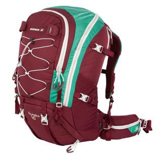 BIGPACK派格40L户外徒步野营专用透气男女轻便登山背包BP4400023 酒红色