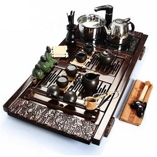 尚帝 祥云-陶瓷茶具电磁炉套装BH2014-024A
