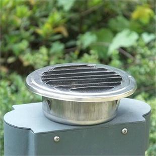 博蒂诗不锈钢外墙风罩排气口 换气扇风口 防雨风帽 带防虫网 新款平口