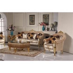 阿西娜欧式沙发 古典沙发 创意贵妃椅 贵族时尚茶几 新古典家具 美容院娱乐会所组合沙发 中小户型客厅沙发