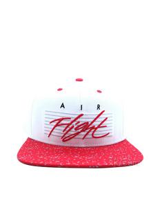 NIKE 耐克 男女同款红色拼色遮阳运动帽(美国直发)