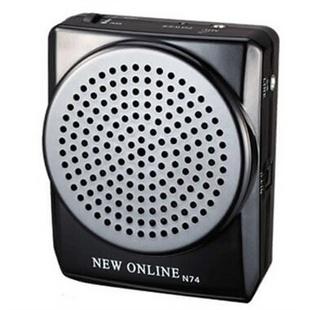 新在线 N74 教学腰挂扩音器 老年娱乐唱戏机 扩音机(黑色)