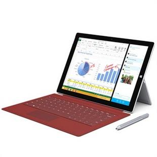 微软(Microsoft) Surface Pro3(专业版 Intel i5 128G存储 4G内存)12英寸平板电脑 微软年度王牌旗舰,耀世登场,前所未有的12寸奢华触控体验,办公与娱乐完美结合~!_银色,官网标配