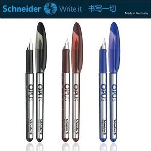 原装德国SCHNEIDER施耐德钢笔 墨水笔 OPUS超越 学生练字钢笔 超顺滑