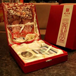 手礼网厦门特艺礼盒系列(珠绣拖鞋、印象方巾、贝雕名片夹) 让世博惊叹的闽南艺术品 创意礼品