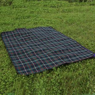 户外加厚加宽便携200*150cm野餐垫防潮垫 绿色