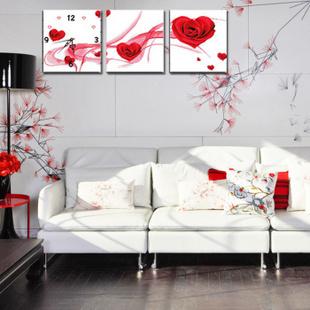 华庭丽娜数码印花花卉十字绣 一生有爱