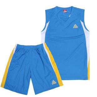 匹克PEAK运动套装 专业比赛篮球服 中兰 3XL/185