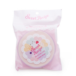 韩国爱丽小屋(ETUDE HOUSE)蛋糕海绵粉扑带盒子
