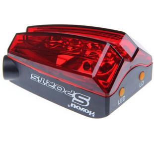 凯速 LED闪光警示激光路标自行车尾灯RA602