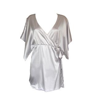 银色睡袍 ML