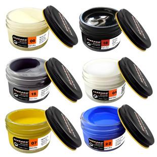 泰雅膏 进口彩色鞋油50ml保养补色 上色 靛蓝色