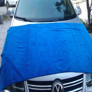 英力特 超细纤维大号擦车毛巾洗车巾去污吸水160*60cm 1条装