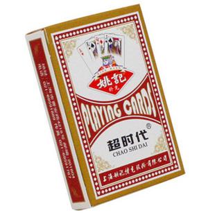 上海姚记扑克牌 1副装 NO.2018红(一副)