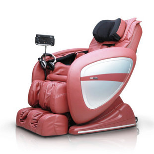 KGC O3-E 全身3D零重力太空舱豪华家用电动按摩椅沙发 优雅红