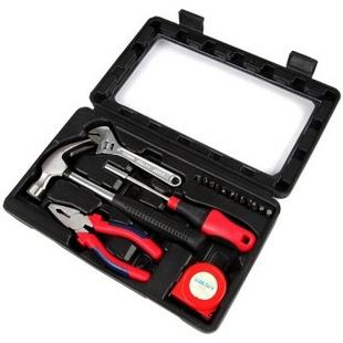 赛拓(SANTO)0385 18件家用工具套装 多功能综合维修工具