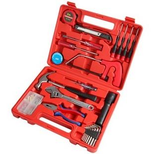 赛拓(SANTO)0384 24件家用工具套装 多功能综合维修工具