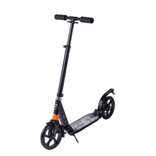 成人滑板车 二轮代步车 踏板车 EXOOTER 黑色(401) 大号
