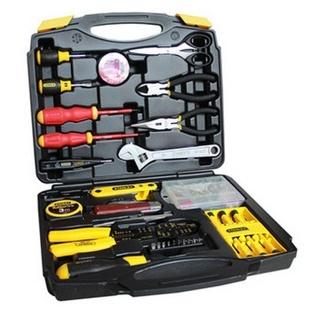 史丹利(Stanley)LT-809 电讯家用维修工具箱套装48件套