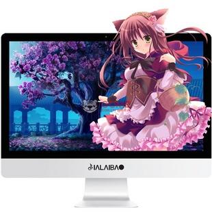 嘉莱宝21.5英寸一体机电脑高清大屏 英特尔G1840 4G内存120G固态 高端办公游戏娱乐(A8)