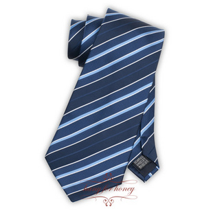 领带 雅致深蓝